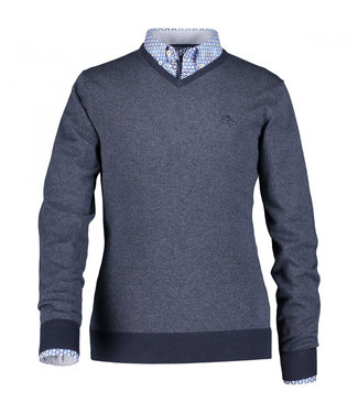 State of Art Pullover V-Neck donkerblauw 123-29852-5959