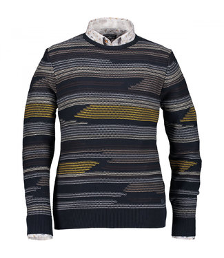 State of Art Pullover Crew-Neck donkerblauw 11429078-5989