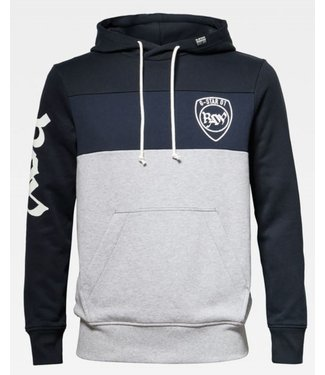 G-Star Graphic 15 hooded sweater blauw D15692-A612-B051