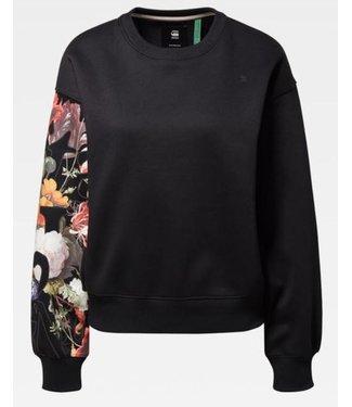 G-Star Graphic 2 loose sweater zwart D15659-A971-6484