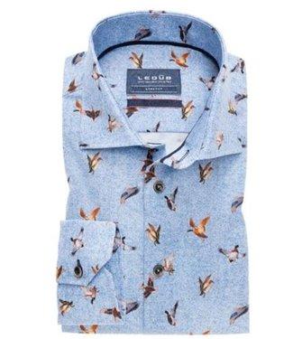 Ledub Shirt blauw 0138338-140-190-000