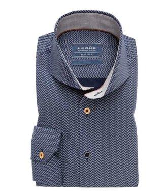 Ledub Shirt donkerblauw 0138221-180-210-640