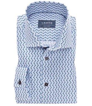 Ledub Shirt blauw 0138195-140-160-000