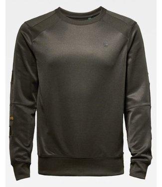 G-Star Motac slim sweater groen D16914-A650-995