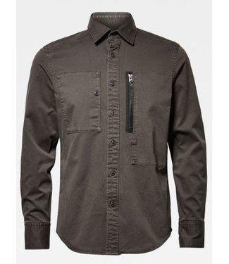 G-Star Powel slim shirt groen D15432-B734-995