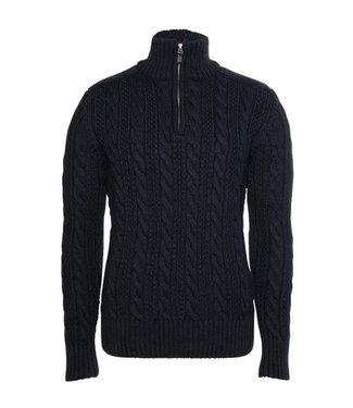 Superdry Jacob Henley donkerblauw M6100022A