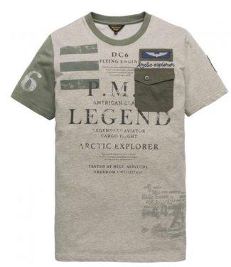 PME Legend Short sleeve r-neck Fine Terry White PTSS197505-910