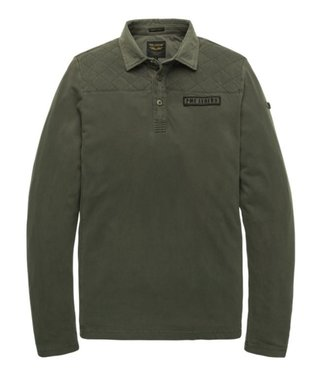 PME Legend Long sleeve polo Light Pique Rosin PPS197850-6154