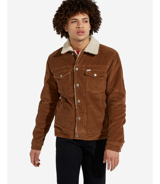 Wrangler Sherpa jacket bruin W423UPXMA