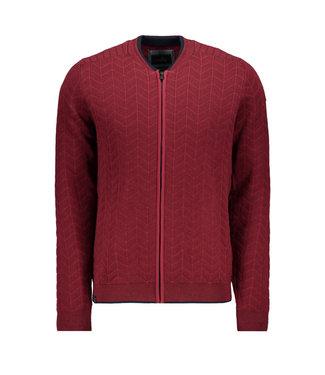Vanguard Bomber jacket Cotton Blend Pomegranate VKC197171