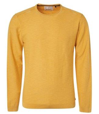 No Excess Pullover, R-Neck slub, yellow 94231109