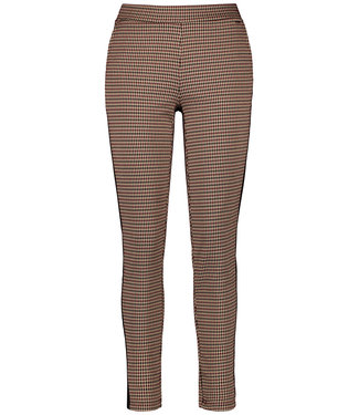 Taifun TROUSERS KNITTED FAB BURNT BRICK PATTERNED 421011-16821