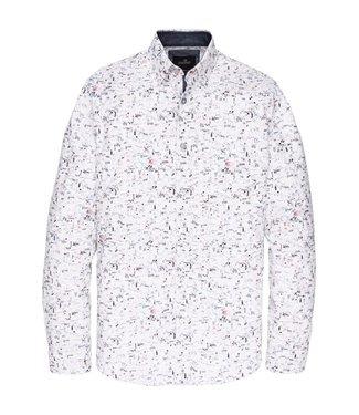 Vanguard Long Sleeve Shirt CF Print Bright White VSI198402