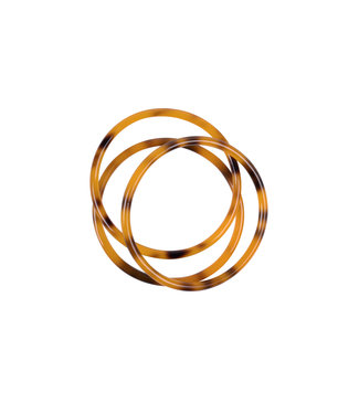 Zusss Armband hoornlook oranje 04SA19v