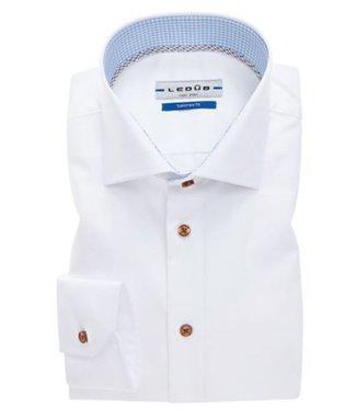 Ledub Overhemd Spierwit 910 Licht blauw 130 0033598