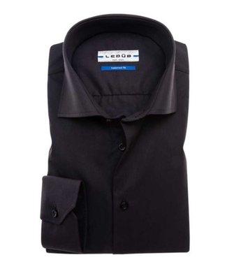 Ledub Overhemd Zwart 290 0033528