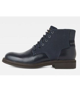 G-Star Garber derby boot donkerblauw D15991-8959-6486
