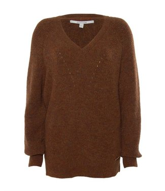 Moscow Sweater bruin FW19-65.02