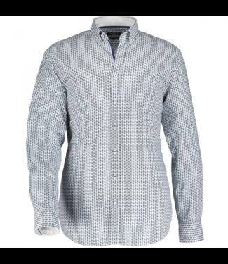 State of Art Shirt LS Printed Pop kobalt 21410017