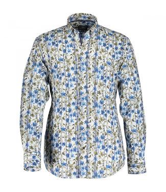State of Art Shirt LS Printed Pop kobalt 21410013
