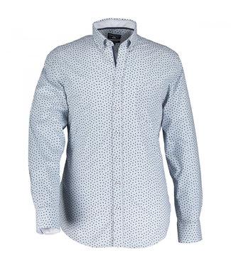 State of Art Shirt LS Printed Pop kobalt 21410001