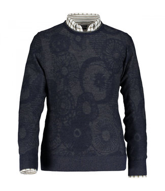 State of Art Pullover Crew-Neck J donkerblauw 11410061