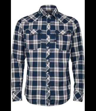G-Star 3301 slim shirt l/s blauw D16733-B842-B021