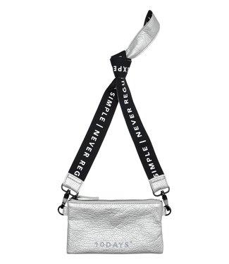 10Days Mini pouch zilvergrijs 20-963-0201