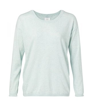 Yaya Sweater with buttons ICE BLUE 1000217-011