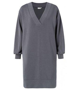 Yaya Midi sweater dress DEEP SEA BLUE 180902-011