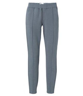 Yaya Cotton blend trousers DEEP SEA BLUE 120998-011