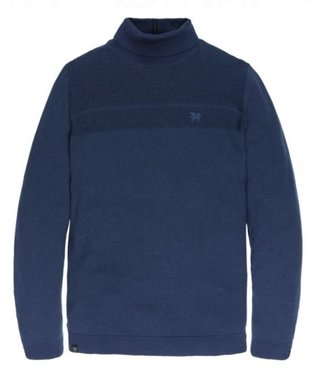 Vanguard Roll neck Cotton Navy Peony VKW196124