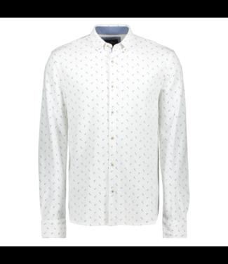 Vanguard Long Sleeve Shirt Pique printed Sodalite Blue VSI201206