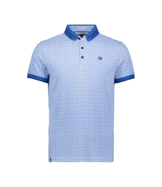 Vanguard Short sleeve polo Pique Stretch Strong Blue VPSS201806