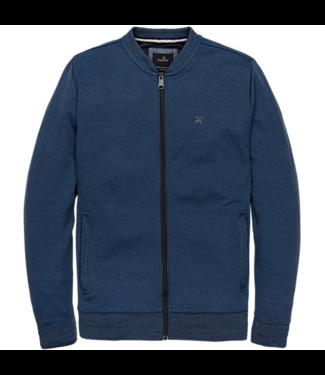 Vanguard Zip jacket Two Tone Interlock Dress Blues VSW201411