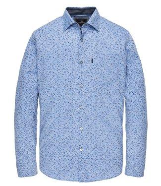 Vanguard Long Sleeve Shirt Print Strong Blue VSI201201