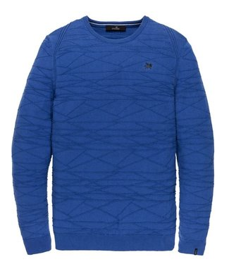 Vanguard R-neck Cotton Strong Blue VKW201316