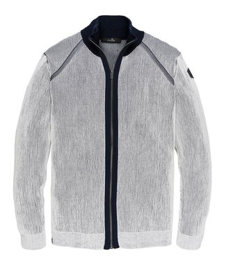 Vanguard Zip jacket Cotton Plated Bright White VKC201354