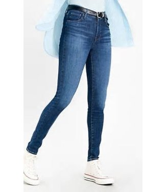 Levi's 720 High rise superskinny blauw 52797-0123