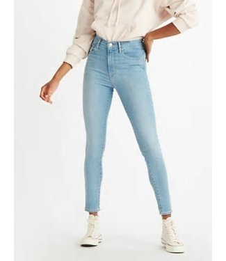 Levi's Mile high super skinny lichtblauw 22791-0110