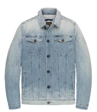 PME Legend Short jacket LIGHT BLUE DENIM JACK Light Blue Denim PDJ201501
