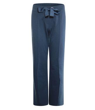 Poools Pant wide blauw 013198