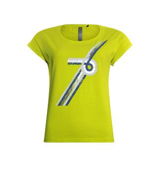 Poools T-shirt geel 013118