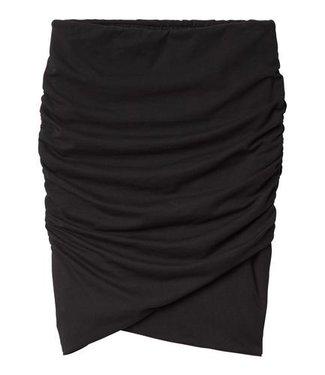 10Days Wrap skirt zwart 20-109-0201