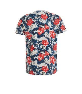 Petrol Industries T-shirt ss r-neck wit M-1000-TSR675