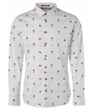 No Excess Shirt allover digital printed Royal 95430203