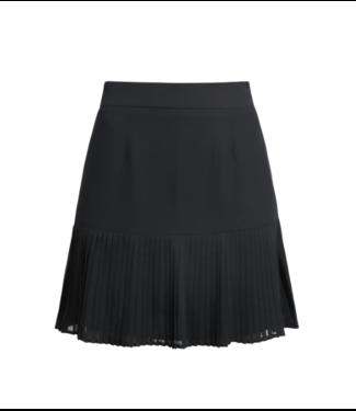 NA-KD Pleated bottom skirt zwart 1018-003710