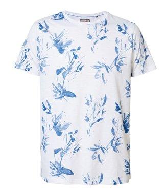 Petrol Industries T-shirt r-neck wit M-1000-TSR628