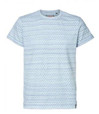 Petrol Industries T-shirt r-neck lichtblauw M-1000-TSR618