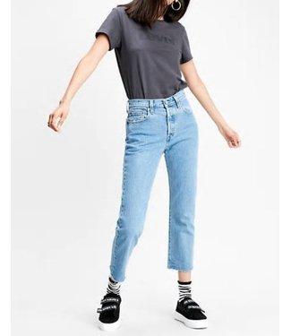 Levi's 501 crop jeans lichtblauw 36200-0096